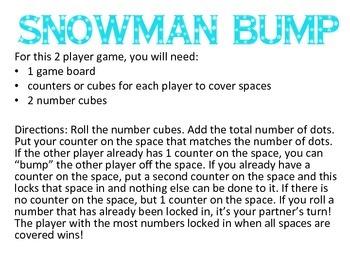 Snowman Bump