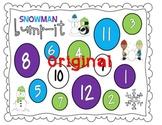 "Snowman ""Bump It"" Game"