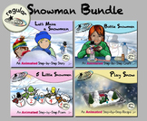 Snowman Bundle - Animated Step-by-Steps® - Regular