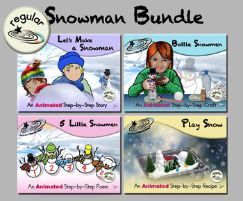 Snowman Bundle - Animated Step-by-Steps™