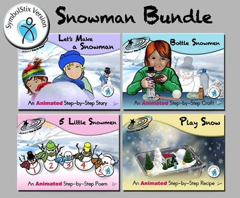 Snowman Bundle - Animated Step-by-Steps™ SymbolStix