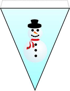 Snowman Bunting