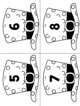 Snowman Button Centers