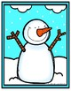 Snowman Button Counting FREEBIE