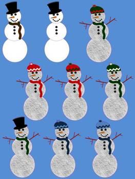 Snowman CLIP ART