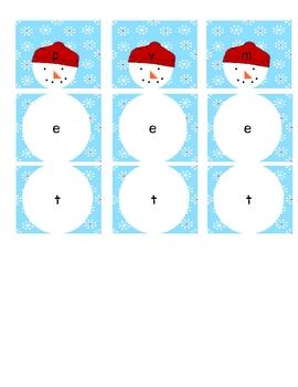 Snowman CVC