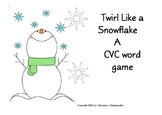 Snowman CVC Game for Circle Time