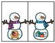 Snowman CVC Match--Center for K-1