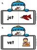 Snowman CVC Word Centers