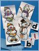 Snowman CVC Word Work