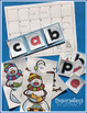 Snowman CVC Word Work Activities