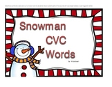 Snowman CVC Words