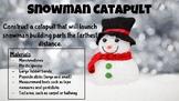 Snowman Catapult - Winter STEM Challenge