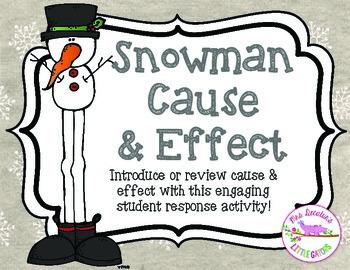 Snowman Cause & Effect