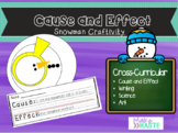Snowman Cause and Effect Craftivity
