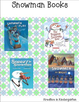 Snowman Character Trait Flipbook
