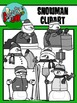 Snowman / Christmas / Winter Holiday Clipart - Graphics