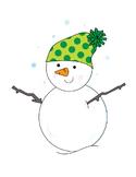 Snowman Clip Art Image