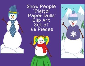 Snowman Clip Art PNG JPG Christmas Winter Blackline Commer