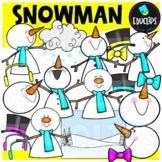 Snowman Clip Art Set {Educlips Clipart}