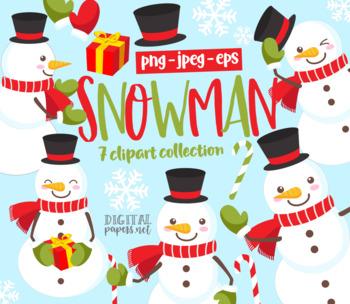 Free snowman clipart images - Clipartix
