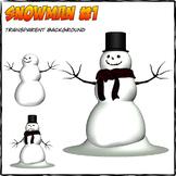 Snowman - Cliparts #1