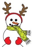 Snowman Color n' Cut