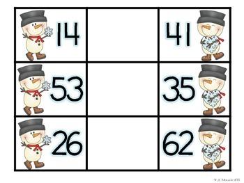 Snowman Comparisons {A Free Math Center}