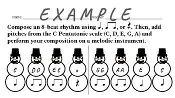 Snowman Composition Project