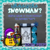 """Snowman Concept Booklet-""""ON"""" for Speech and Language"""