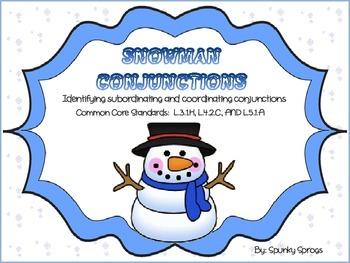 Snowman Conjunctions