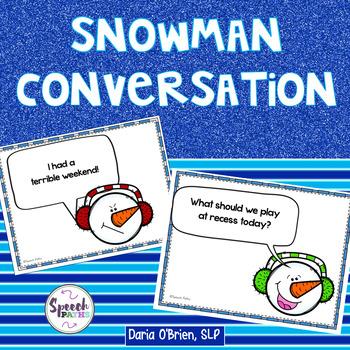 Snowman Conversation
