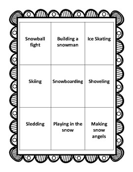 Snowman Conversation Spinner