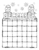 Snowman Count Down to Winter & the New Year Craftivities & Writing Activities