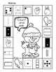 Snowman Count and Clip/Color/Dab - Number Sense 1-10
