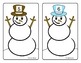 Snowman Counting 1-20