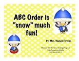 Penguin ABC Order