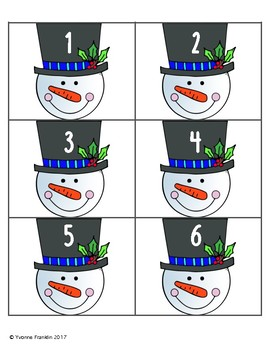 Snowman Counting