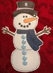 Snowman Counting Activity