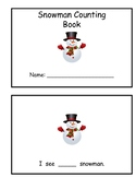 Snowman Counting Book- Numbers 1-15