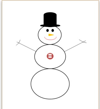Snowman Counting, Letters, and Patterns