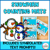 Snowman Counting Mats
