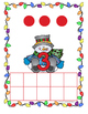 Snowman Counting Mats and Play Dough Mats