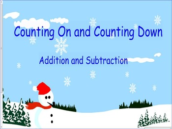 Snowman Counting Up and Down