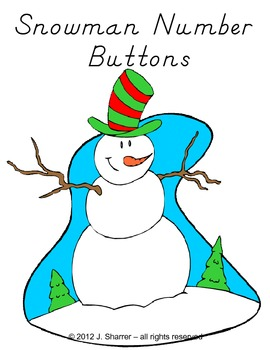 Snowman Counting with Buttons