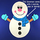 Snowman Craft for Winter & January