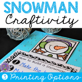 Snowman Writing Craft