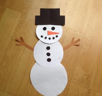 Snowman Craft (A winter craft!)