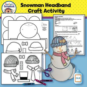 Snowman Craft Activity