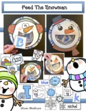 Snowman Craft Feed The Snowman A Fun Review of a Variety o